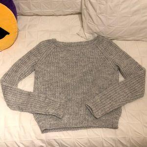 Brandy Melville gray knit sweater